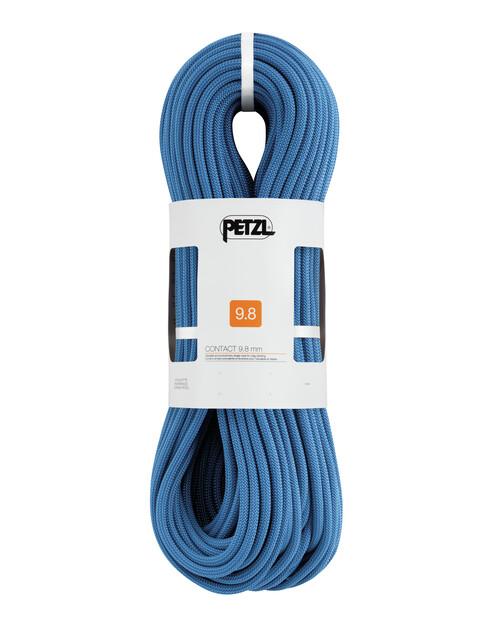 Petzl Contact Seil 9,8mm x 60m blau